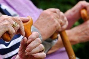 院内老人最大心愿希望子女多来看看