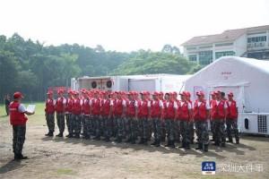 每天可紧急救治超百人深圳市开展陆空联合救援演练